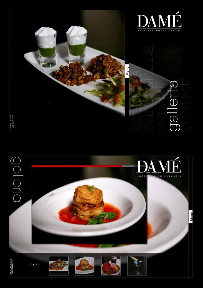 Damè Roma / website / 2008