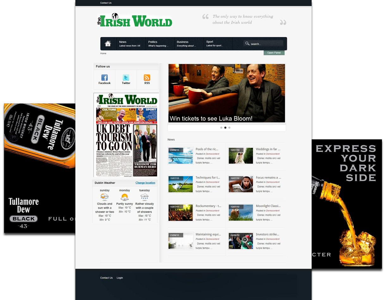 The Irish World / website / 2011