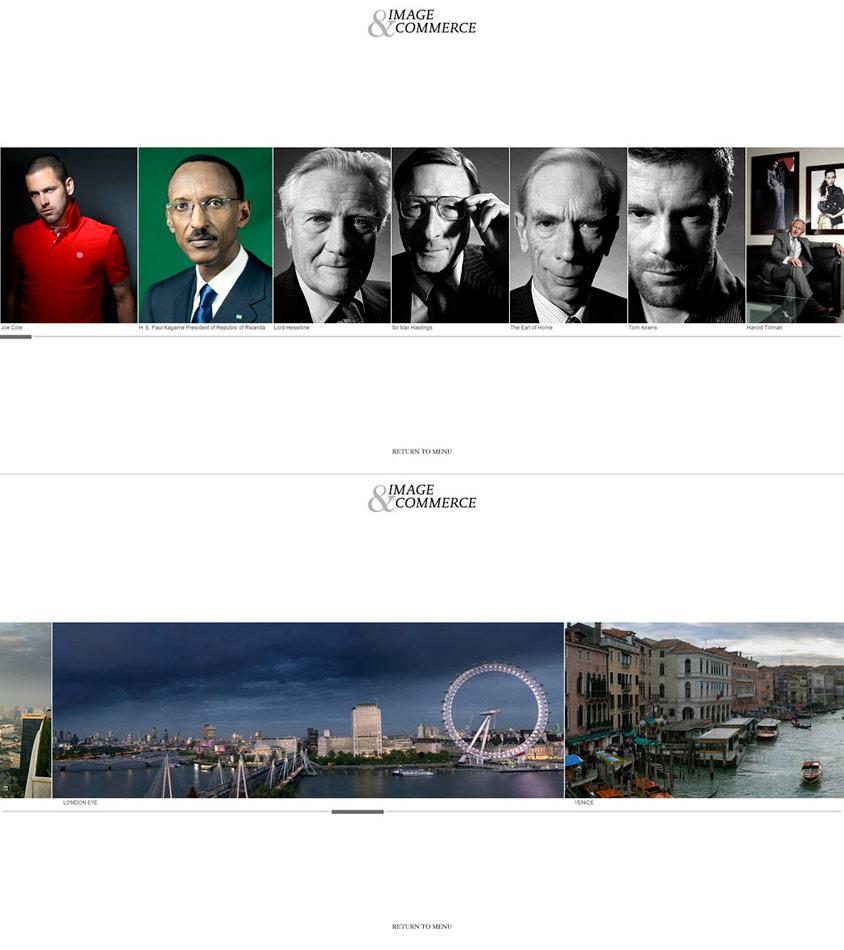 Image&Commerce / website / 2010