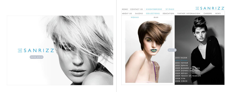 Sanrizz / website / 2010