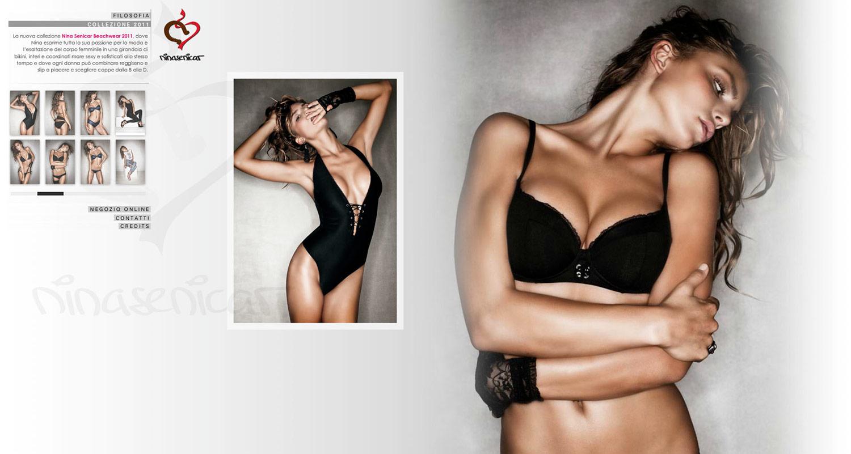 Nina Senicar / website / 2011