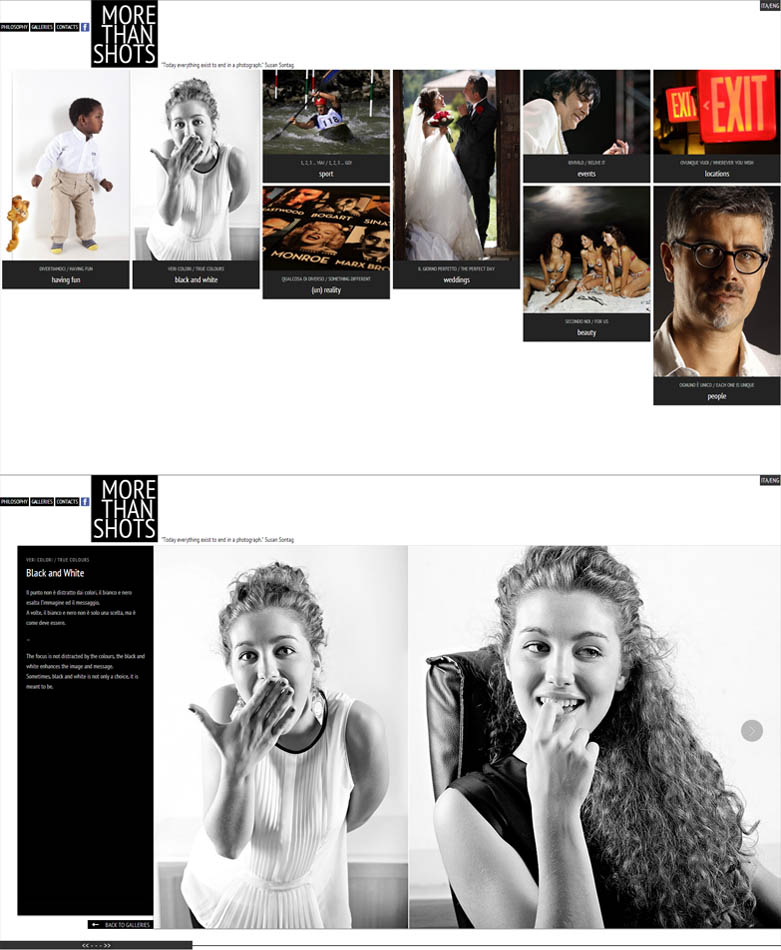 MoreThanShots / website / 2013