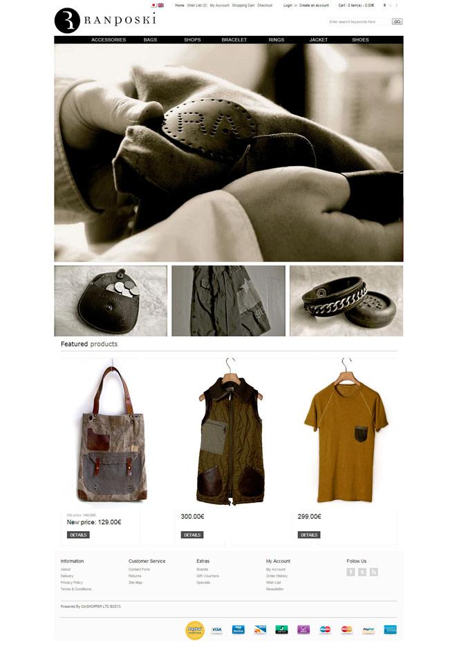Ranposki / website / 2013