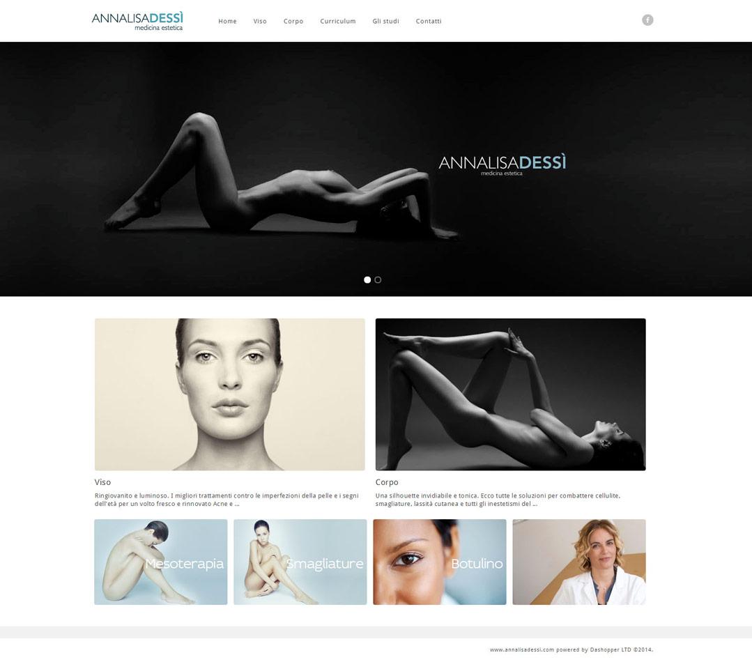Annalisa Dessì / website / 2014