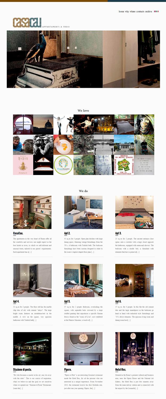 Casacau / website / 2014