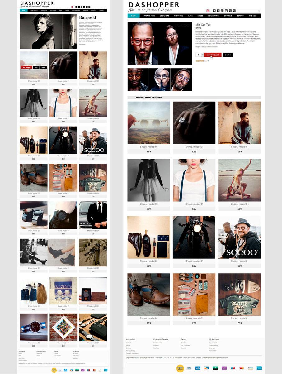 Dashopper / website / 2014