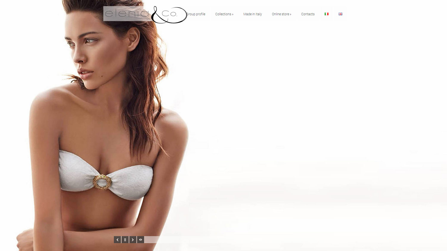 Playboy, Alessandro Dell'Acqua and Elenia Beachwear / website / 2014