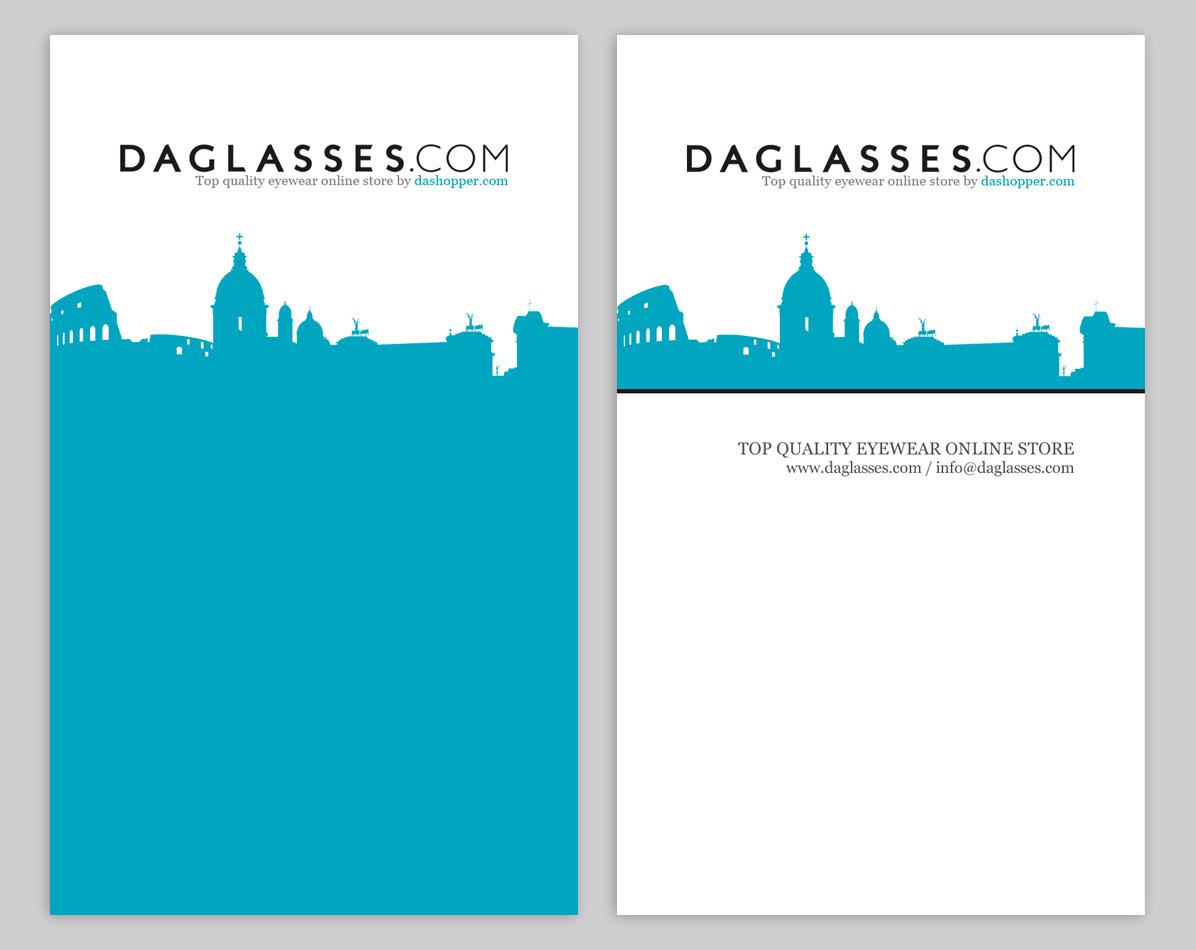 Daglasses.com / business card