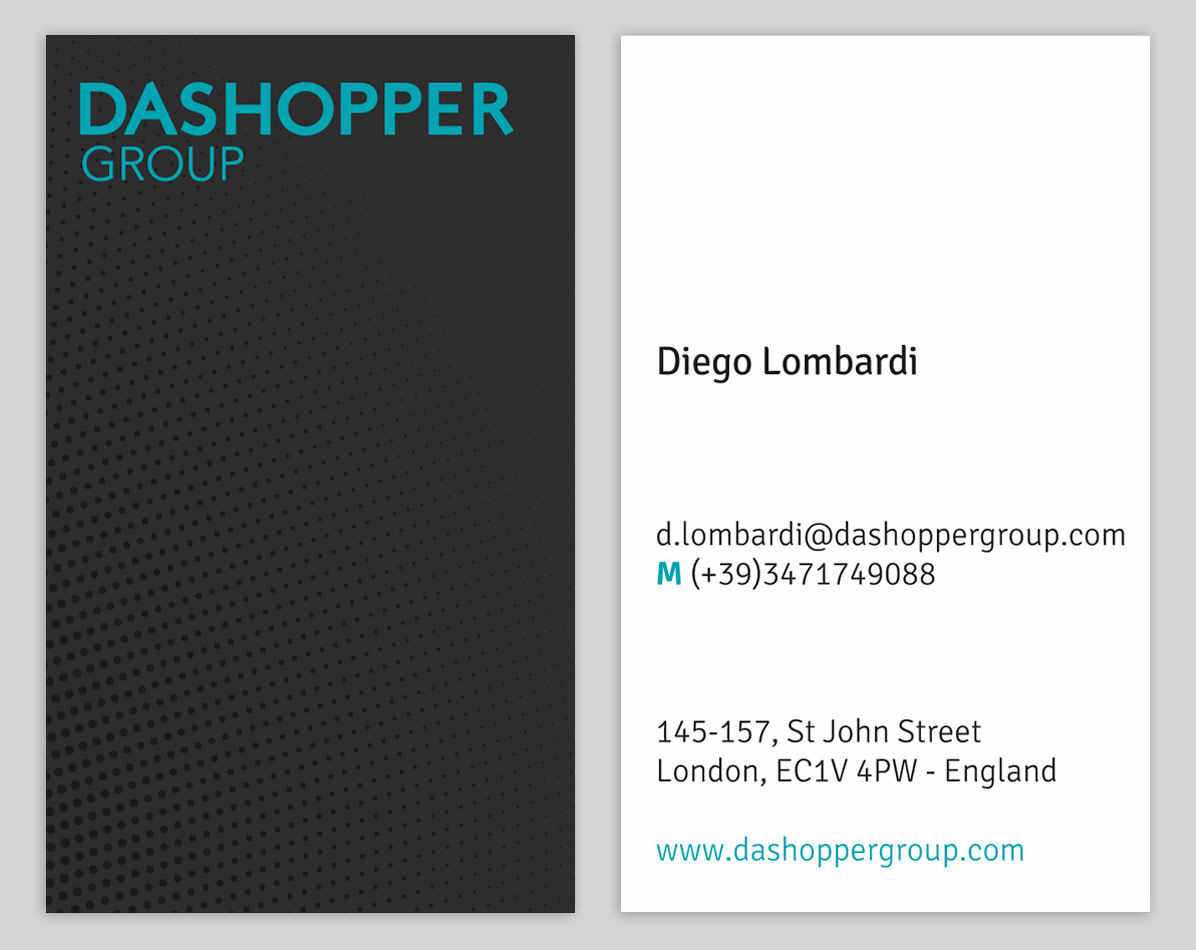 Dashopper group / business card