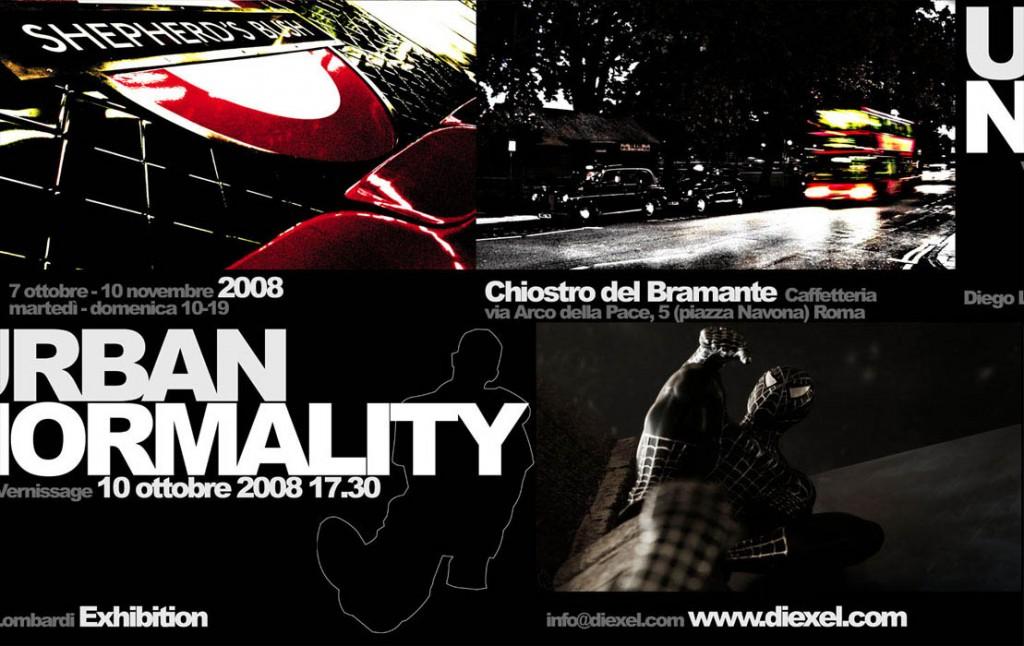 Urban Normality / 2008 / Chiostro del Bramante, Roma / invite