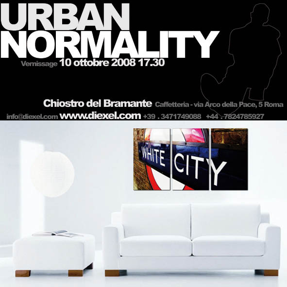 Chiostro del Bramante, Roma / Urban Normality / business card / 2008
