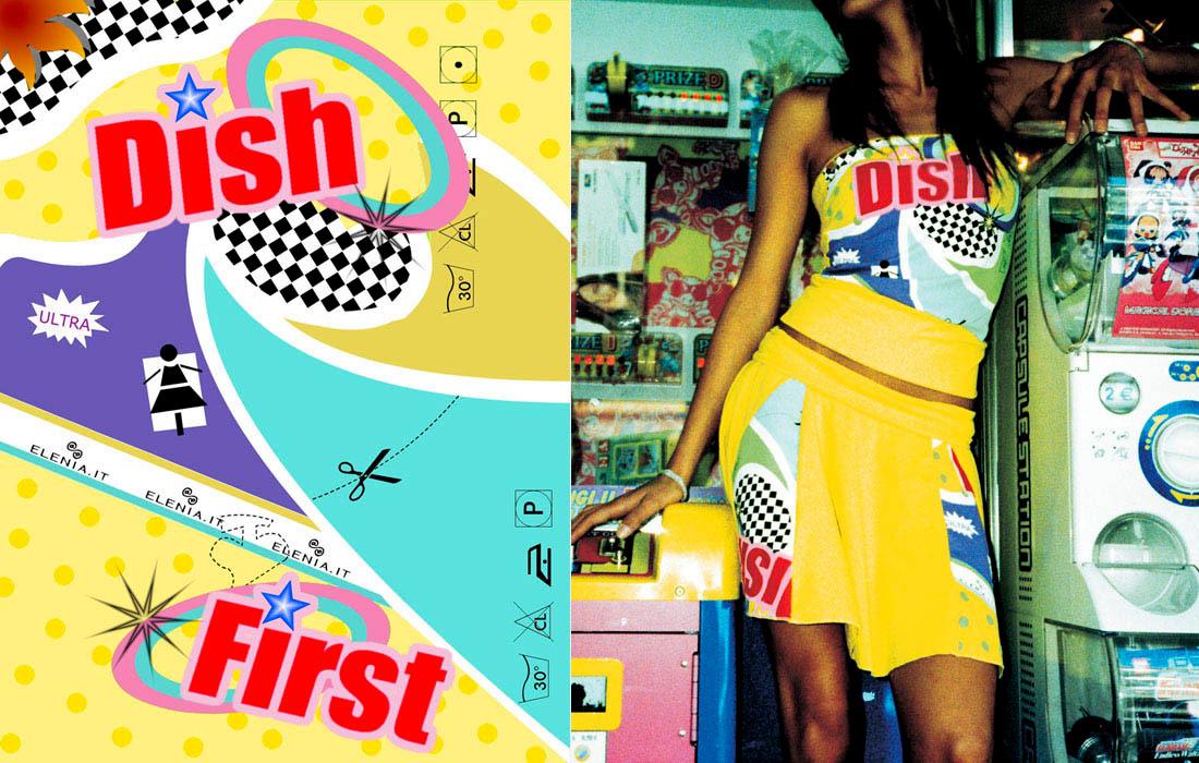 Elenia Beachwear / print design / 2005 / 01