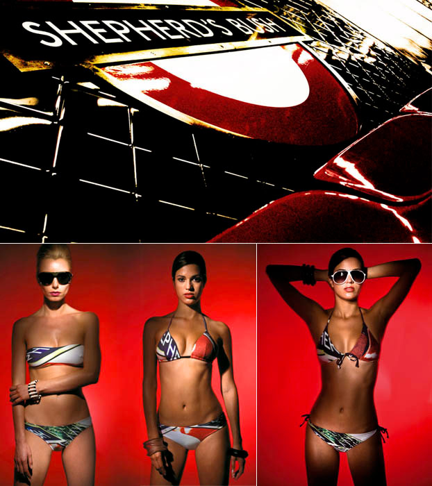 Elenia Beachwear / print design / 2008 / 01