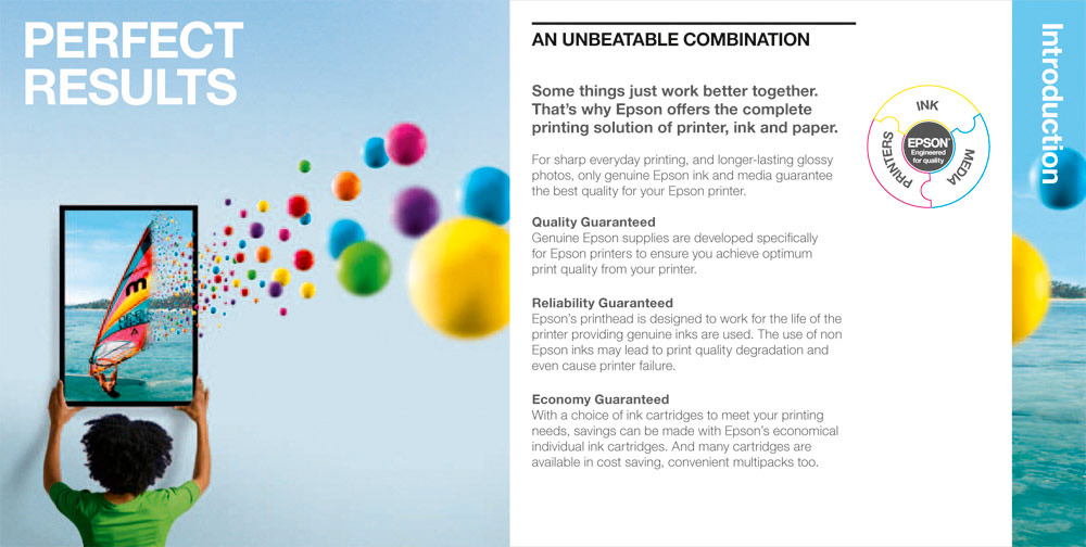 Epson / ink campaign / 2012 / 01