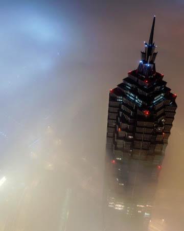Shanghai tower climb (650 meters)
