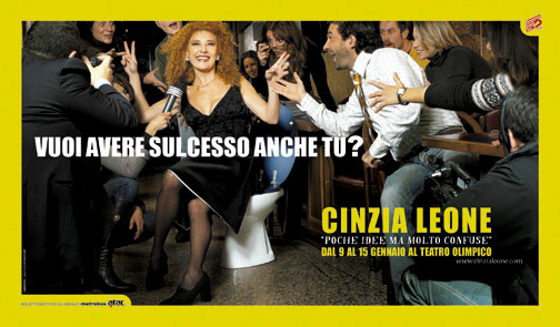 Cinzia Leone / show adv / Psoriasisproject / 01