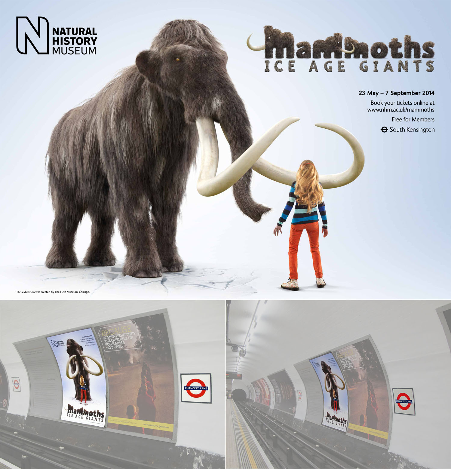 Natural History Museum of London / Mammoths website / 2014