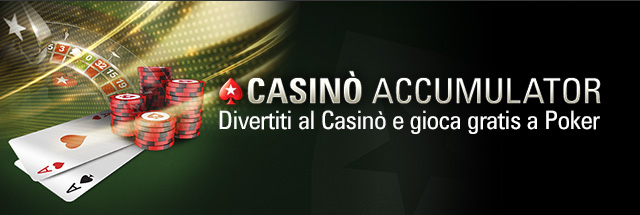 PokerStars / Casino Accumulator