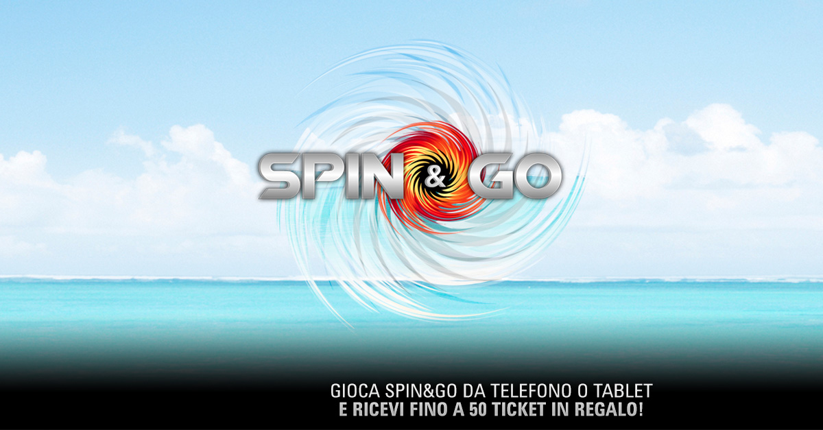 PokerStars / Spin & Go on the beach