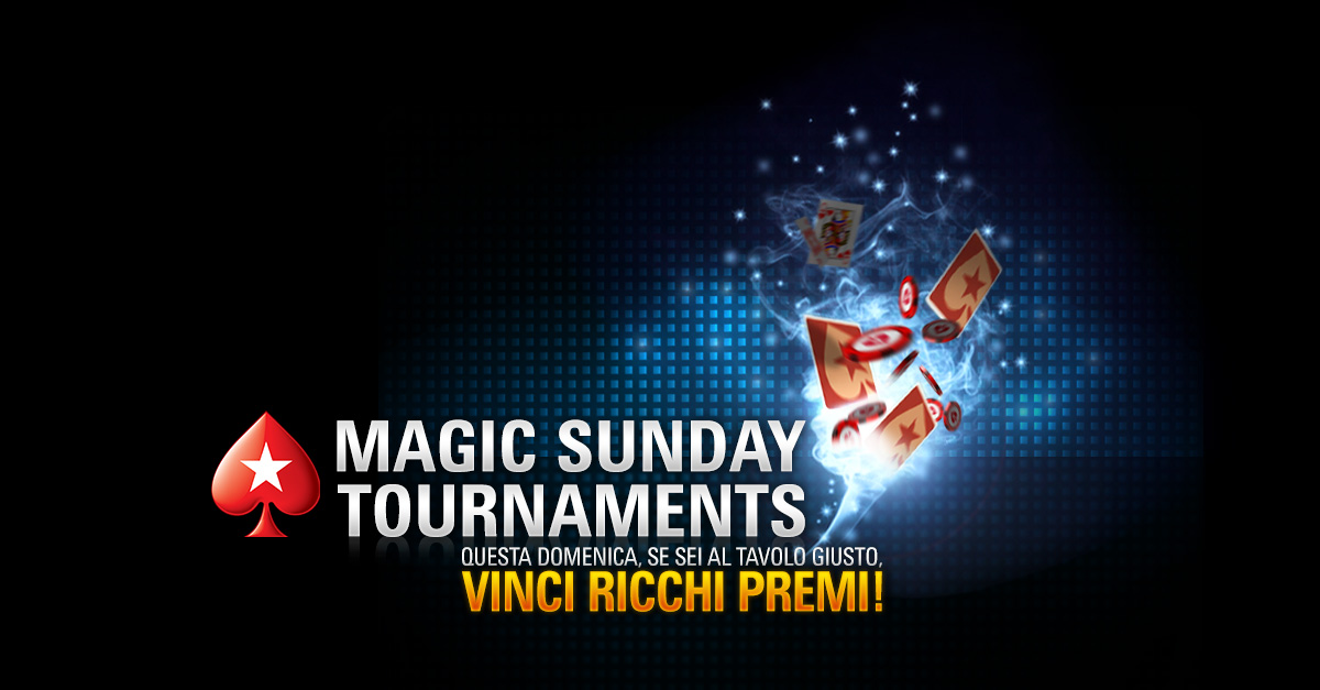 PokerStars / Magic Sunday Tournaments