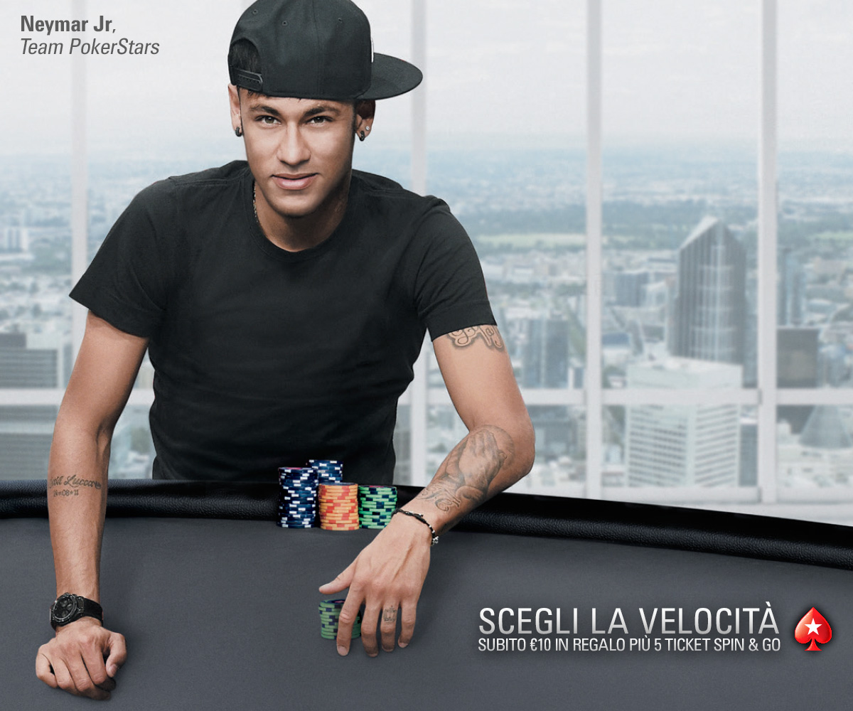 PokerStars / Neymar / First Deposit Bonus