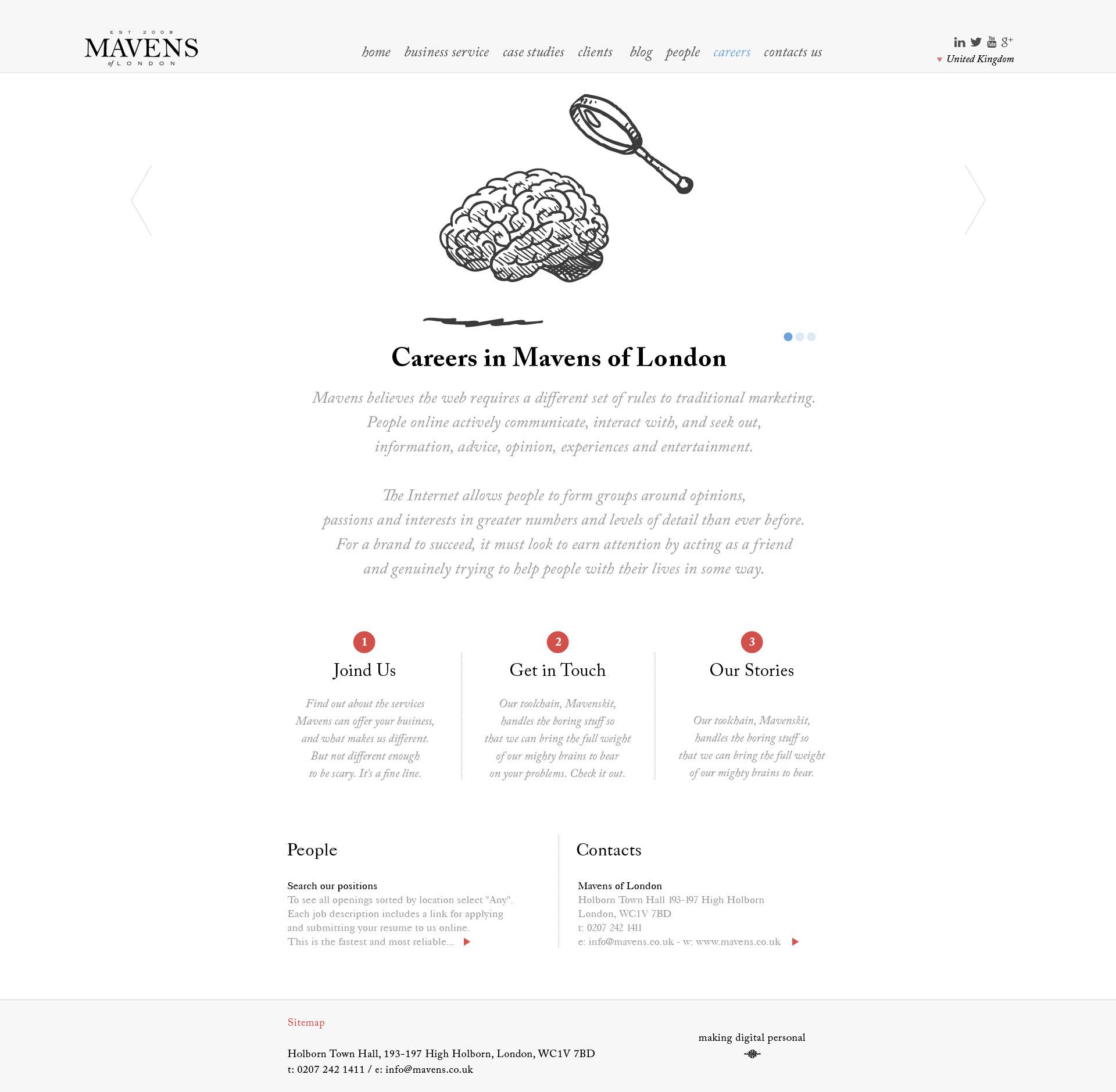 Mavens of London / Careers